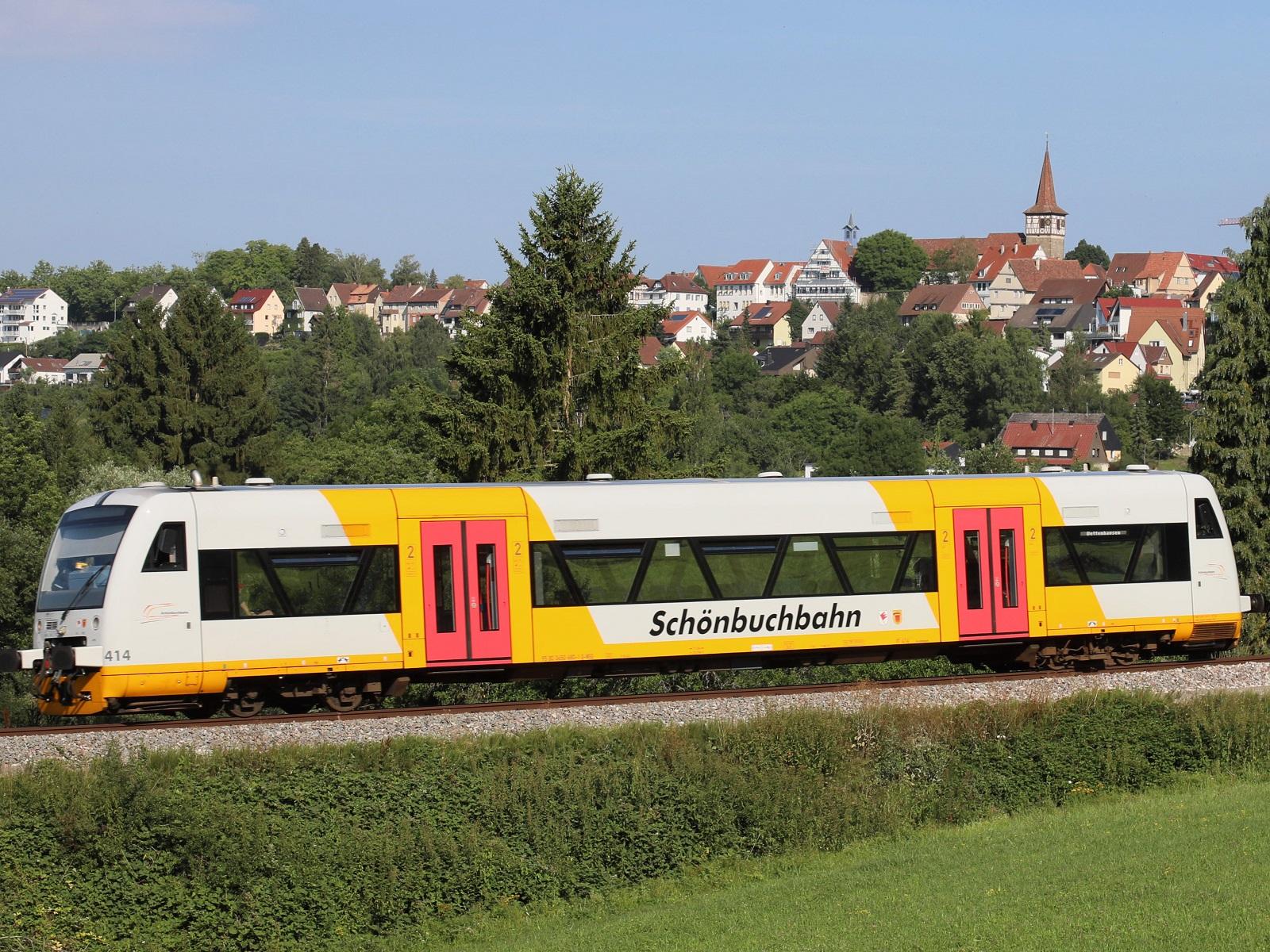 Einzelwagen der Schönbuchbahn