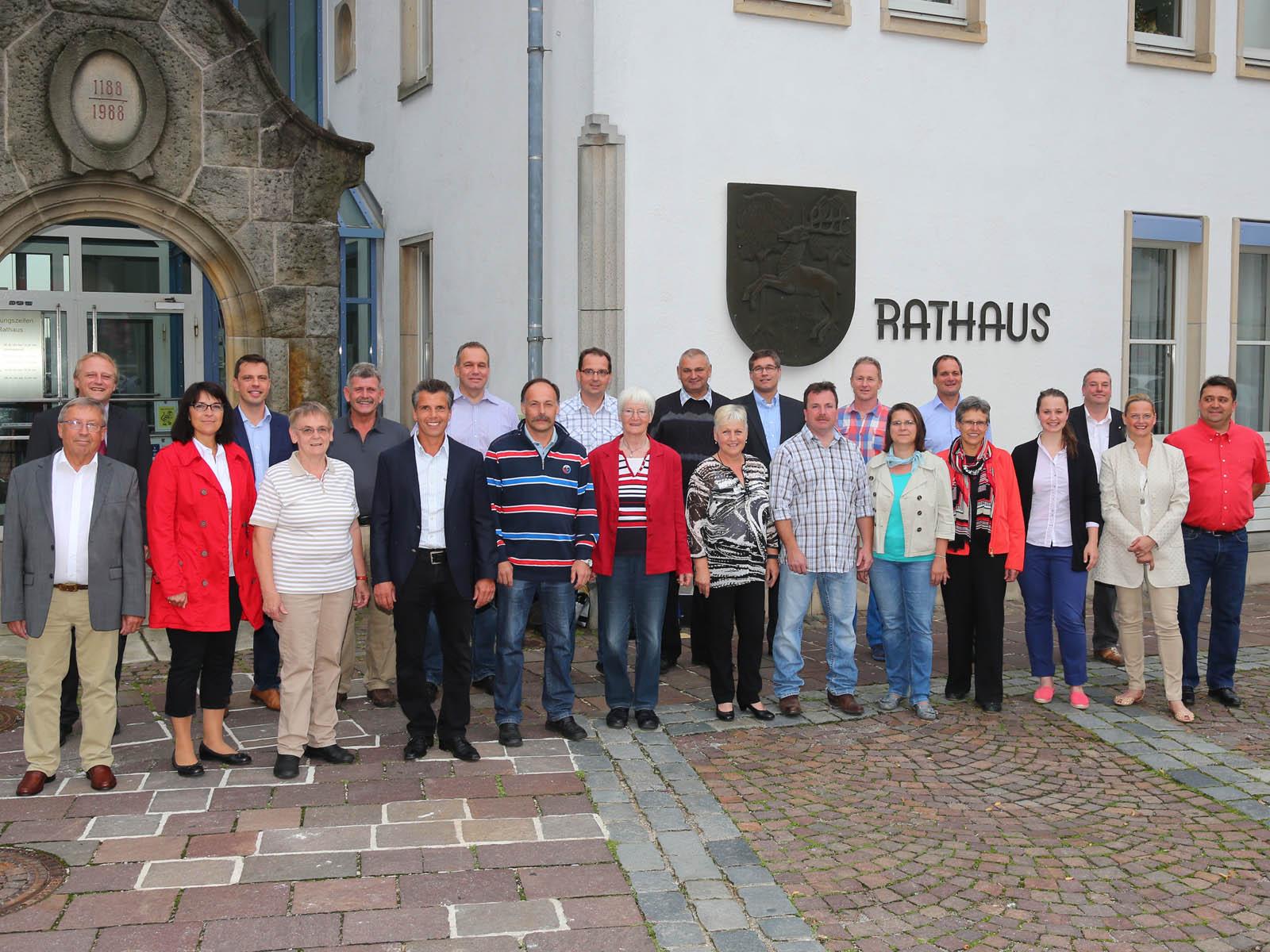 Gemeinderat nach der Wahl 2014