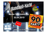 Handballnacht am 01. Mai 2019
