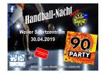 Handballnacht 01.05.2019