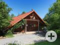 Schutzhütte des Waldkindergartens