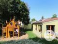 Aussenhütte im Garten Kindergarten Seitenbach