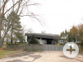 Aussegnungshalle am Friedhof Hägnach