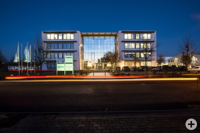Firmengebäude der solutio GmbH
