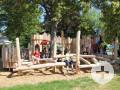 Spielende Kinder am Spielplatz Weil-Nord