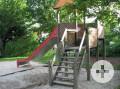 Rutsche am Spielplatz Wolfsgrube