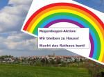 Regenbogen Aktion Weil im Schönbuch