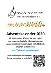 Adventskalender Junges Streichorchester 2020