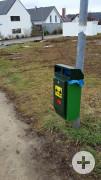 Hundetoilette/ Dog Station Hungerbergweg
