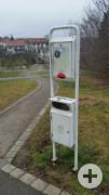 Hundetoilette/ Dog Station Weil Hauptstrasse