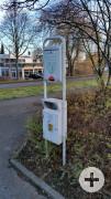 Hundetoilette/ Dog Station Weil Eschenweg