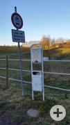 Hundetoilette/ Dog Station Neuweiler Im Hahnwald