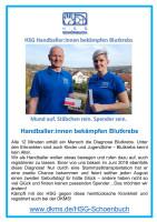HandballerInnen bekämpfen Blutkrebs