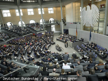 Plenum im Bundestag