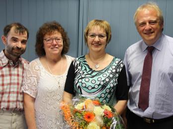 Gratulation zum 40-jährigen JUbiläum von Gudrun Entenmann