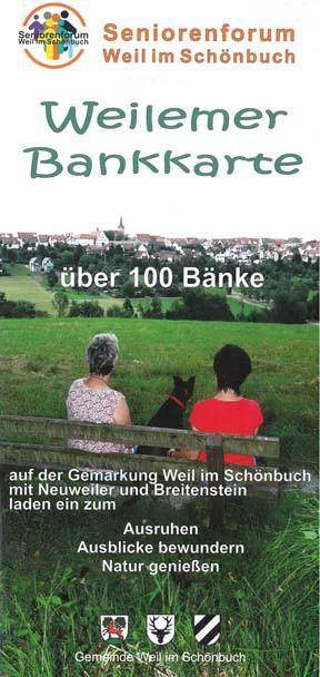 Vorderseite der Weilemer Bankkarte