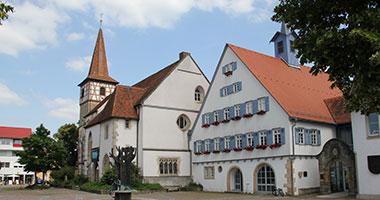 Das Rathaus in Weil im Schönbuch